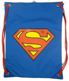 Superman Logo Drawstring Bag
