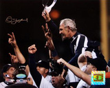 Jim Leyland 2006 ALDS Celebration Carry Off Horizontal Photo