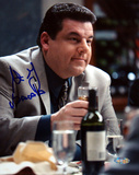 Steve Schirripa At Dinner Table Autographed Photo (Hand Signed Collectable) Photographie
