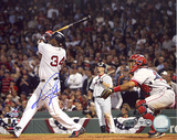 David Ortiz ALDS Game 3 Game Winning Home Run Autographed Photo (Hand Signed Collectable) Photo