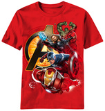 Youth: The Avengers - Assemble Heros T-Shirt