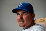 Surprise, AZ - February 29: Kansas City Royals Photo Day - Billy Butler Photographic Print by Rob Tringali