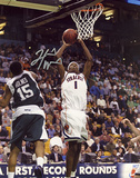 Hakim Warrick Jump Shot Autographed Photo (Hand Signed Collectable) Photographie