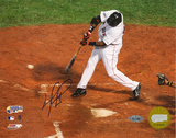 David Ortiz 2007 WS Game 1 Single Autographed Photo (Hand Signed Collectable) Photo