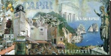Capri/Anacapri Stretched Canvas Print by John Clarke