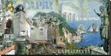 Capri/Anacapri Stretched Canvas Print by John Clarke