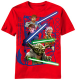 Youth: Star Wars Clone Wars - Framed Clones Shirts