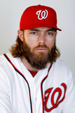 Viera, FL - February 28: Washington Nationals Photo Day - Bryce Harper Photographic Print by Mike Ehrmann