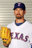 Surprise, AZ - February 28: Texas Rangers Photo Day - Michael Kirkman Photographic Print by Jamie Squire