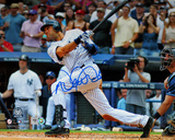 Derek Jeter 3000th Hit Swing LC Autographed Photo (Hand Signed Collectable) Photo