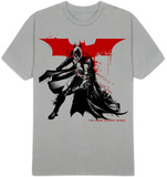 The Dark Knight Rises - Splatter Paint T-Shirt