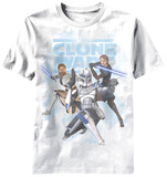 Youth: Star Wars Clone Wars - Good Side Shirts