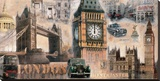 London I Stretched Canvas Print by John Clarke