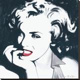 Marilyn Monroe III Reproduction transférée sur toile par Irene Celic