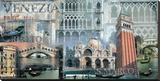 Venedig Lærredstryk på blindramme af John Clarke