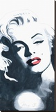 Marilyn Monroe IV Stretched Canvas Print by Irene Celic