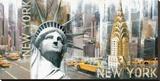 New York II Canvastaulu tekijänä John Clarke