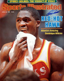 Dominique Wilkins Red Hot Hawk Sports Illustrated Cover Autographed Photo (Hand Signed Collectable) Fotografía