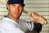 Surprise, AZ - February 28: Texas Rangers Photo Day - Josh Hamilton Photographic Print by Jamie Squire