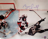 Brett Hull Dallas Stars Game Winning Goal Overhead Horizontal Photo