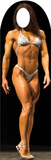 Muscle Woman Lifesize Stand-In Cardboard Cutouts