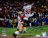 Mario Manningham NFC Championship Catch Horizontal Photo Foto