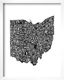 Typographic Ohio Posters by  CAPow
