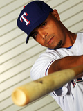 Surprise, AZ - February 28: Texas Rangers Photo Day - Neftali Feliz Photographic Print by Jamie Squire
