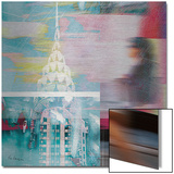 NY City Walk Metal Print by  Luger