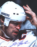 Mark Messier Blood Vertical Photo Photo
