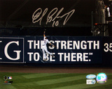 Endy Chavez NLCS GM 7 Robbing Home Run Wide Angle Horiz Photo