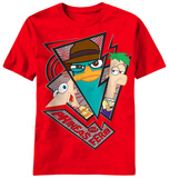 Youth: Phineas and Ferb - Broken Trip T-Shirt