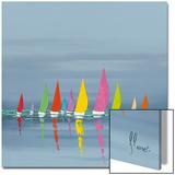ヨットレース 高品質プリント : フレデリク・フラネ