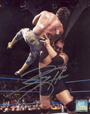 The Big Show Choke Slam Autographed Photo (Hand Signed Collectable) Fotografía