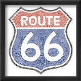 The Legendary Route 66 Posters