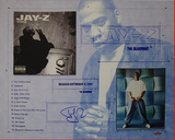 Jay Z Blue Print Collage Autographed Music Photo (Hand Signed Collectable) Photo