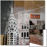 Fanelli Cafe Metal Print by  Luger