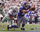 Amani Toomer Touchdown Stretch vs Cowboys Photo