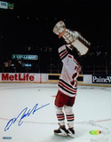 Mark Messier 1994 Stanley Cup Overhead Celebration Autographed Photo (Hand Signed Collectable) Photo