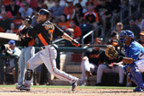 Surprise, AZ - March 12: San Francisco Giants v Kansas City Royals - Eric Hosmer Photographic Print by Christian Petersen