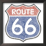 The Legendary Route 66 Print