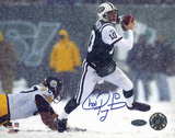 Chad Pennington Snow Run vs. Steelers graph Photo
