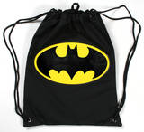 Batman Logo Drawstring Bag