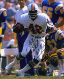 Paul Warfield Miami Dolphins with HOF '83 Inscription Photo