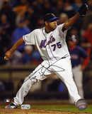 Francisco Rodriguez New York Mets Autographed Photo (Hand Signed Collectable) Photo