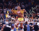 Hulk Hogan - WWE - Hulkamania Autographed Photo (Hand Signed Collectable) Photo