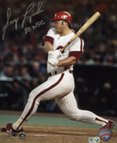 Greg Luzinski Philadelphia Phillies with 80 WSC Inscription Photo