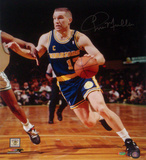Chris Mullin Drive to Basket Left Handed Vertical Photo