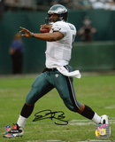 Donovan McNabb Philadelphia Eagles- Rolling Out Autographed Photo (Hand Signed Collectable) Photo
