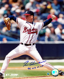 Tom Glavine Atlanta Braves with 95 WS MVP Inscription Autographed Photo (Hand Signed Collectable) Photo